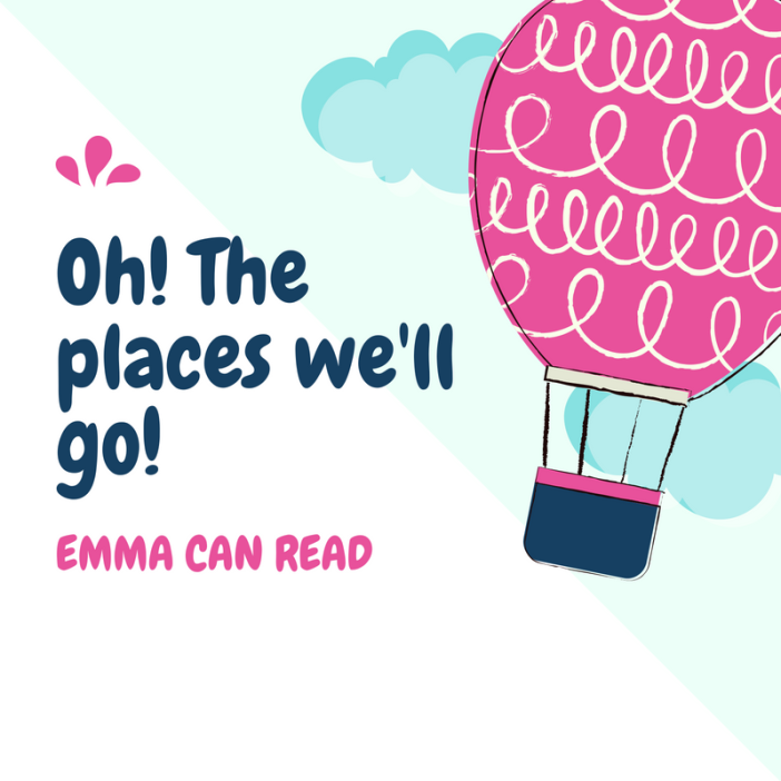 Emma can read graphic